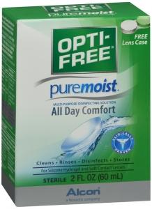 Alcon Opti-Free Pure Moist Multi-Purpose Disinfecting Solution 2oz