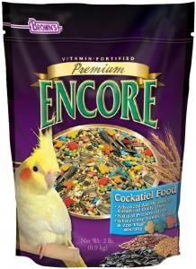 F.M. Brown's Encore Premium Cockatiel Bird Food - 2lb Bag