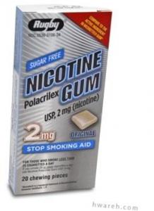 Nicotine Gum (2mg) Original - 20 Pieces