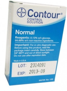 Bayer Contour Normal Control Solution - 1 Vial