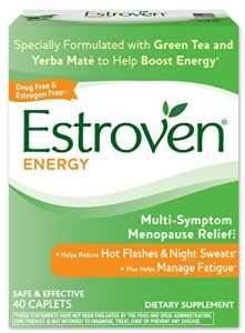 Estroven Energy Multi-Symptom Menopause Relief Dietary Supplement Caplets - 40ct