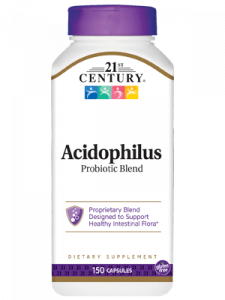 21st Century Acidophilus Probiotic Blend Capsules - 150ct