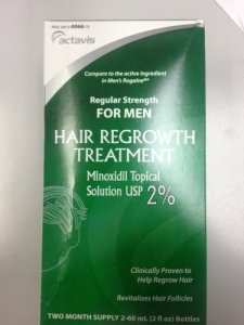 Men's Regular Strength Minoxidil Hair Regrowth Treatment - Two Month Supply