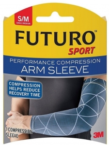 FUTURO Compression Sleeve, Arm, Small/Medium - 1ct