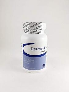 Derma-3 Softgels for Medium Dogs- 60ct