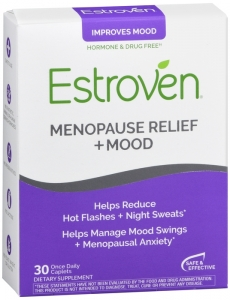 Estroven Menopause Relief Plus Mood Caplets - 30 ct