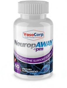 NeuropAWAY PM Nerve Support Nighttime Formula
