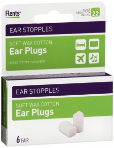 Flents Quiet! Please Ear Stopples 12 Each(6 pairs)