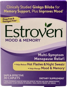Estroven Plus Mood & Memory Caplets - 30ct