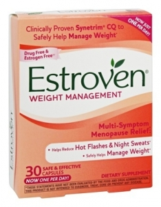 Estroven Multi-Symptom Menopause Relief Weight Management Capsules - 30ct
