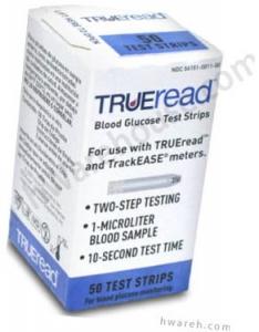 TRUEread Diabetic Test Strips - 50 Strips