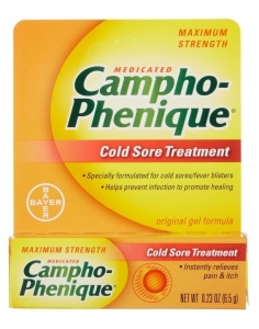 Campho-phenique Cold Sore Treatment Gel - 0.23 oz