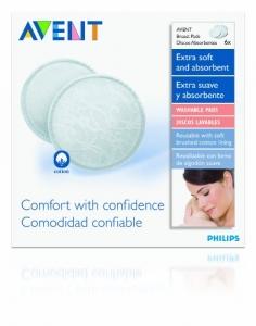 Philips AVENT Washable Nursing Pads - 6ct