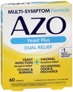 AZO Yeast Infection Symptom Treatment Tablets - 60ct