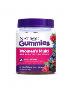 Natrol Women's Multi Gummies, Berry, Cherry & Grape flavors, 90ct