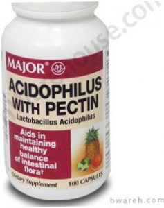 Acidophilus with Pectin Probiotic Supplement - 100 Capsules