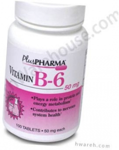 Vitamin B-6 (50mg) - 100 Tablets
