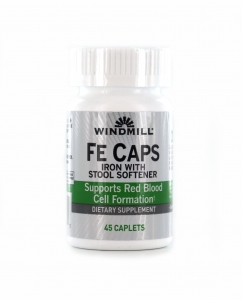 Windmill Fe Caps Caplets With Stool Softener 45ct