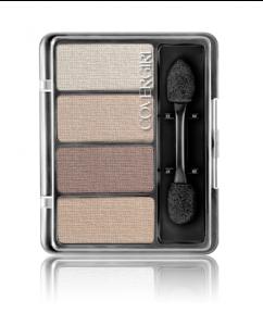 CoverGirl Eye Enhancers 4-Kit Shadows, Natural Nudes - .19oz Case