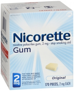 Nicorette Gum 2mg Regular 170ct Box