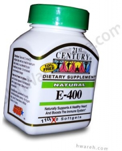 Vitamin E Natural 400 IU - 110 Softgels- DISCONTINUED