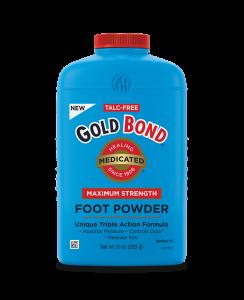 Gold Bond Talc Free Foot Powder Medicated Maximum Strength 4oz
