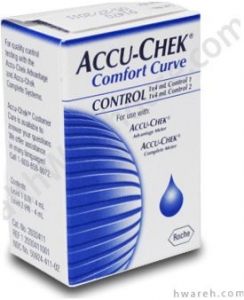 Accu-Chek Comfort Curve Control Solution***MFG DISCONTINUED 3/31/14