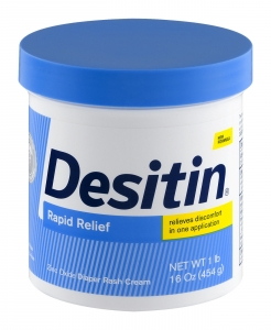 Desitin Rapid Relief Cream Jar- 16oz