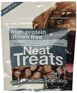 Neat Treats, High Protein and Gluten Free Soft Chews for Big Dogs- 10oz