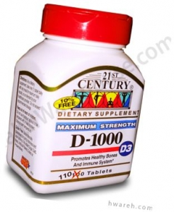 Vitamin D 1000 IU - 110 Tablets