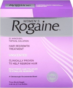 Rogaine Women 2% Unscented  (3 Months Supply)