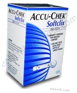 Accu-Chek Softclix Lancets - 200 Lancets
