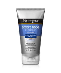 Neutrogena Sport Face Sunscreen Lotion SPF 70+ - 2.5oz