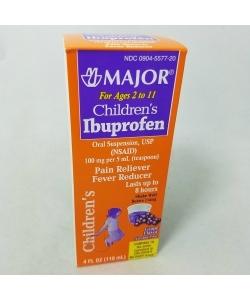 Children's Ibuprofen Oral Suspension (Grape Flavor) - 4oz.