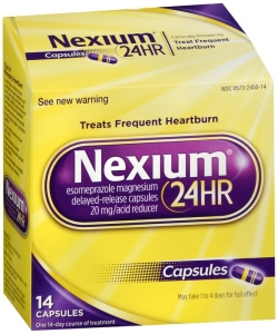 Nexium 24HR Delayed Release Capsules 20mg  - 14 Capsule Box (Over-The-Counter no prescription needed)
