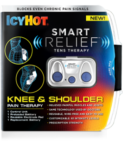 Icy Hot Smart Relief TENS Therapy, Knee & Shoulder Pain Starter Kit