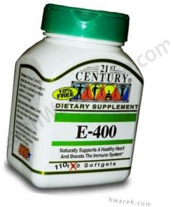 Vitamin E 400 IU - 110 Softgels