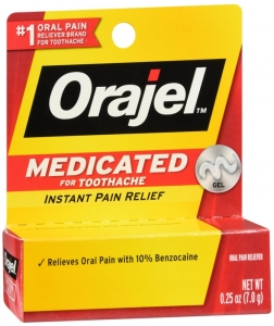 Orajel Mild Toothache Relief Medicated Gel, 0.25 Oz