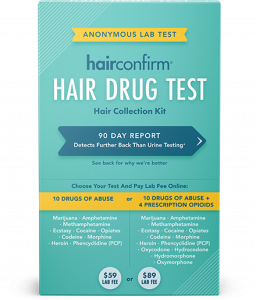 HairConfirm™ Regular Hair Follicle Drug Test, 1 Test