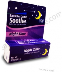 Bausch & Lomb Soothe Eye Relief  Night Time Lubricant Eye Ointment - 0.125oz