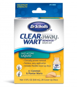 Scholl Clear Away Wart Remover .31 oz