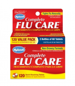 Hyland's Complete Flu Care Value Pack 120 Tabs