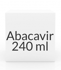 Abacavir 240ml of 20mg/ml Oral Solution