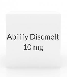 Abilify Discmelt 10mg Tablets - 30 Tablet Box