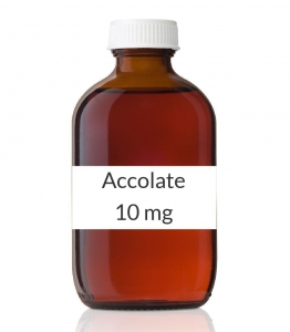 Accolate 10mg Tablets - 60 Count Bottle
