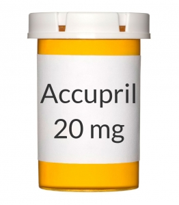 Accupril 20mg Tablets