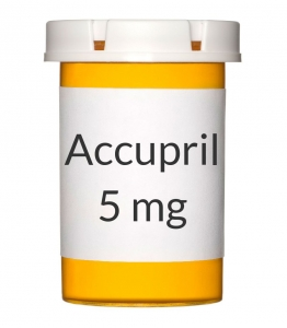 Accupril 5mg Tablets