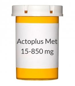 Actoplus Met 15-850 mg Tablets