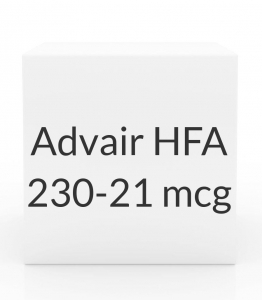 Advair Hfa 230 21mcg Inhaler 120 Dose 12gm