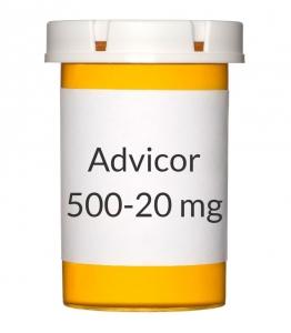 Advicor 500-20mg Tablets